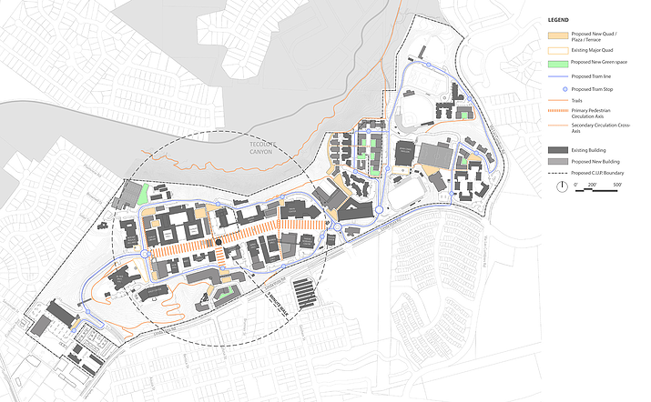 USD Campus Master Plan | MW Steele Group Architecture and Planning