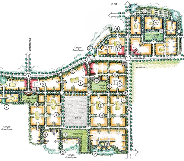 Otay Village Specific Plan | MW Steel Group Architecture and Planning