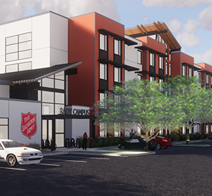 The Salvation Army Door of Hope | M.W. Steele Group Architecture and Planning