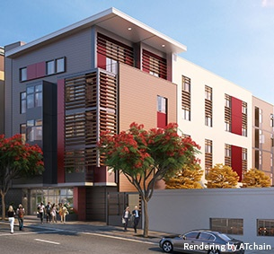 Beacon San Diego Supportive Housing | MW Steel Group Architecture and Planning