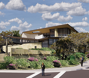 Glickman Hillel Center UCSD | MW Steele Group Architecture and Planning