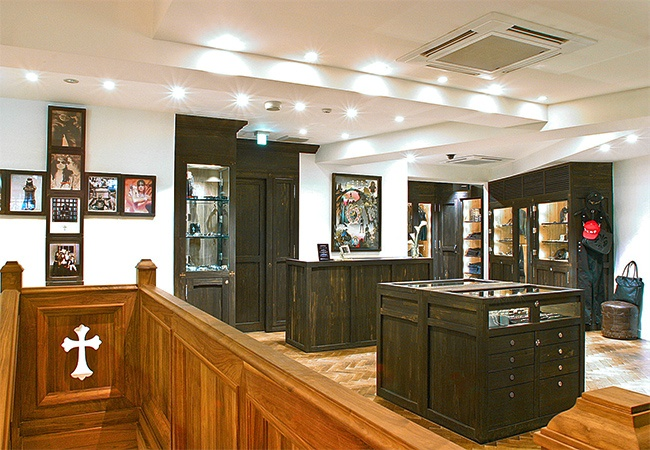 Chrome Hearts Harajuku High End Retail | MW Steele Group Architecture and Planning