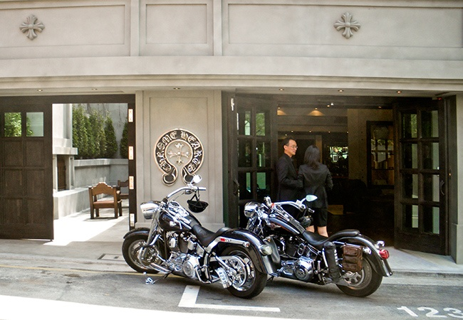 Chrome Hearts Seoul Korea High End Retail | MW Steel Group Architecture and Planning
