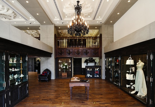 Chrome Hearts Taipei High End Retail | MW Steele Group Architecture and Planning