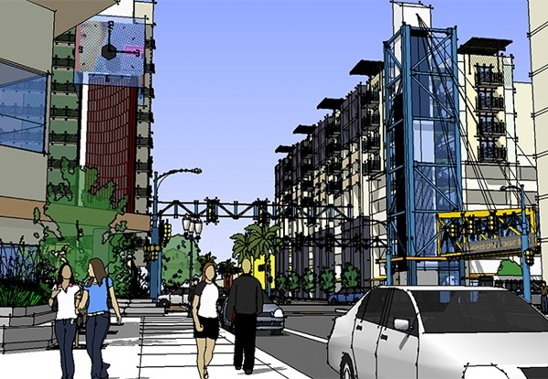 Gateway at 8th Street & National City Blvd | MW Steel Group Architecture and Planning