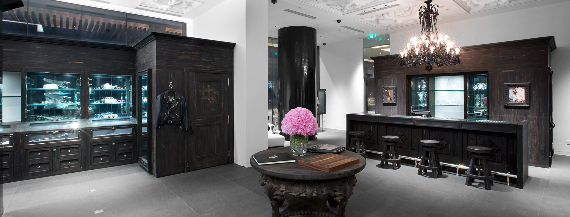 Chrome Hearts Beijing High End Retail   MW Steele Group Architecture and Planning