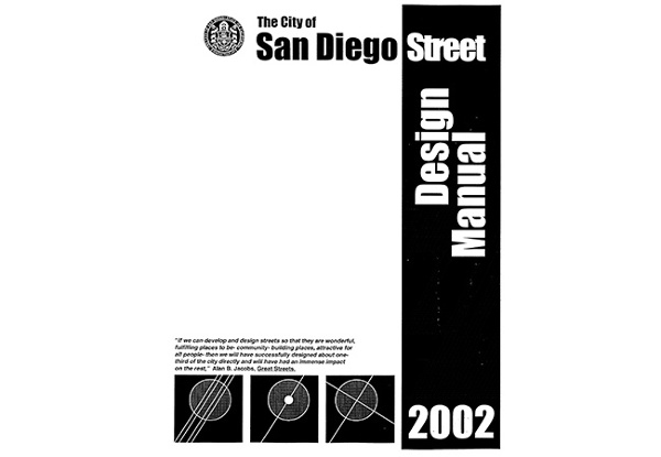 San Diego Street Design Manual | MW Steele Group