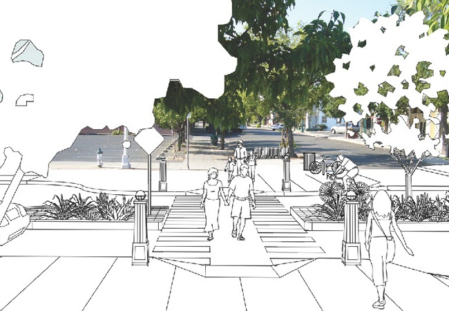 Tower District Streetscape Plan   MW Steele Group Architecture and Planning