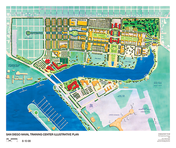 SD NAVAL TRAINING CENTER RESUSE MASTER PLAN PLANNING