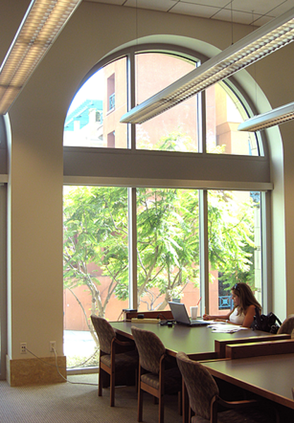 Cal Westen Academic Law Library | MW Steel Group Architecture and Planning
