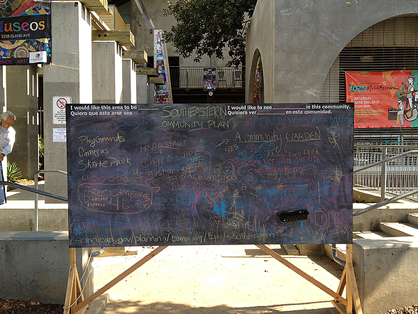 San Diego Community Pop Up Outreach   MW Steel Group Architecture and Planning
