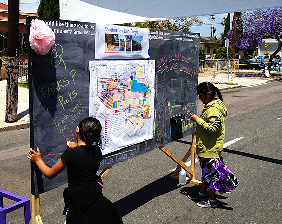 San Diego Community Pop Up Outreach | MW Steel Group Architecture and Planning
